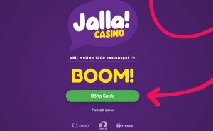 Jalla Casino screenshot