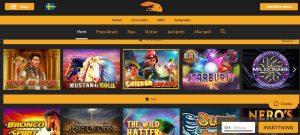 Snabbis Casino screenshot