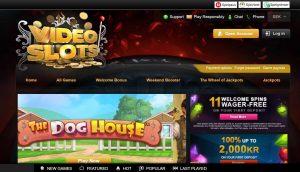 Videoslots Casino screenshot