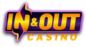 in and out casino logo